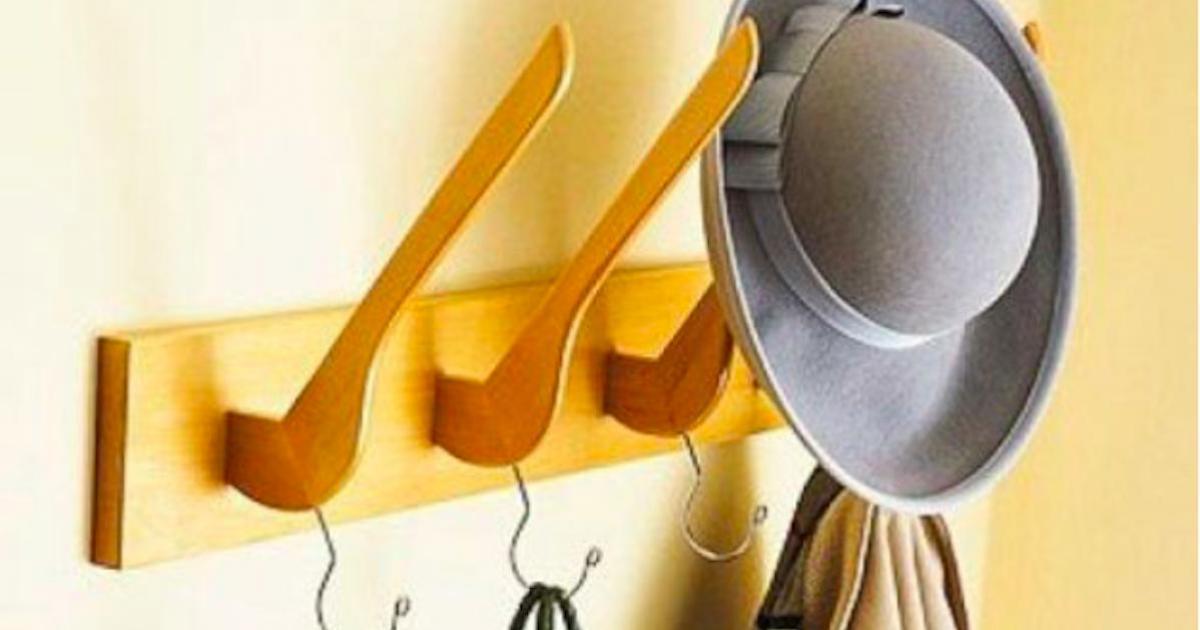 Mille et une utilisations inusités des cintres dans la maison