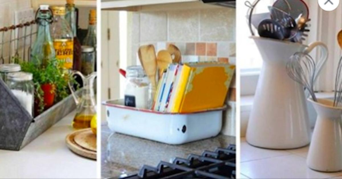 17 objets inusités où ranger vos accessoires de cuisine