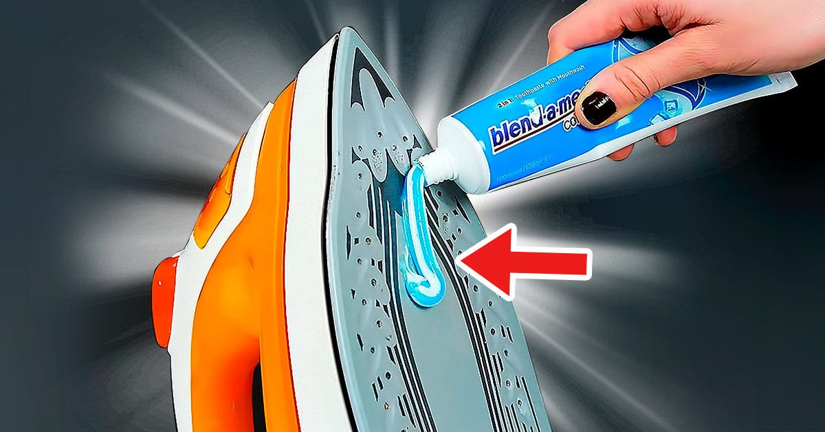 Pourquoi faut-il mettre du dentifrice sur le fer à repasser ?