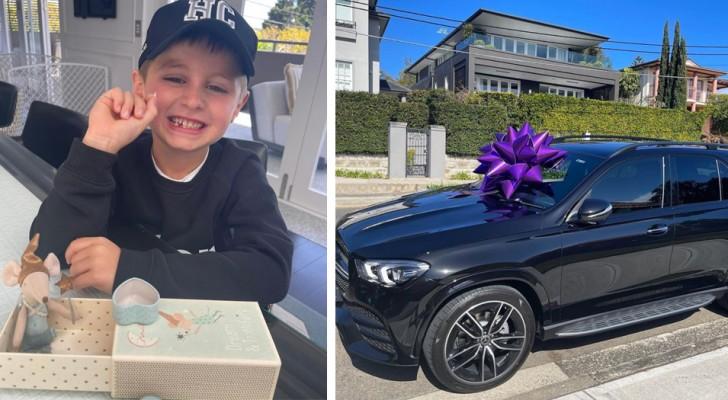 Elle avait offert à ses jeunes enfants une voiture de 165 000 euros, et maintenant le plus jeune demande 125 euros à la petite souris
