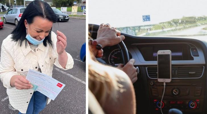 Cette femme a finalement réussi l'examen de conduite : 'Après 27 ans, j'ai eu mon permis de conduire !'