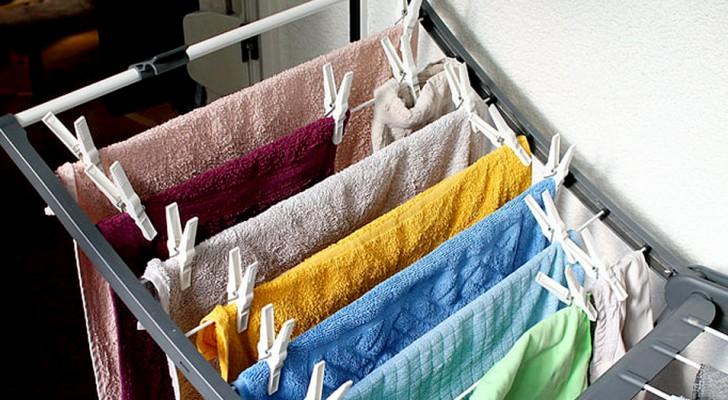 Les vêtements ne devraient pas être mis à sécher à l'intérieur : quelques-unes des raisons les plus importantes
