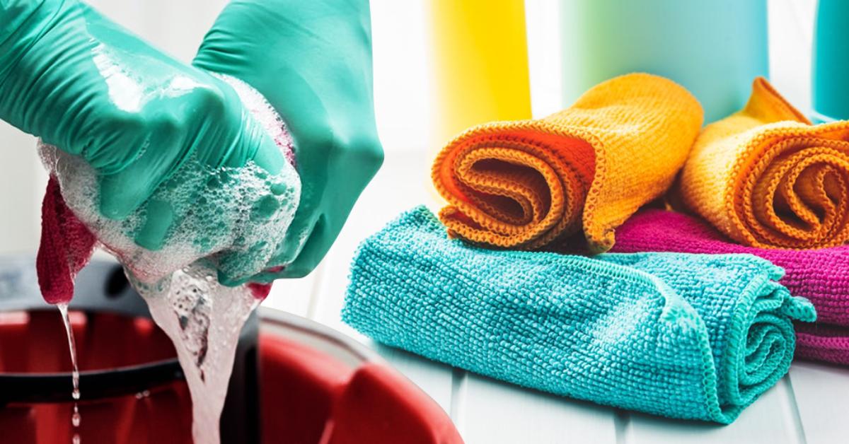 Comment bien nettoyer les chiffons en microfibre ? L'erreur de nettoyage que vous faites probablement