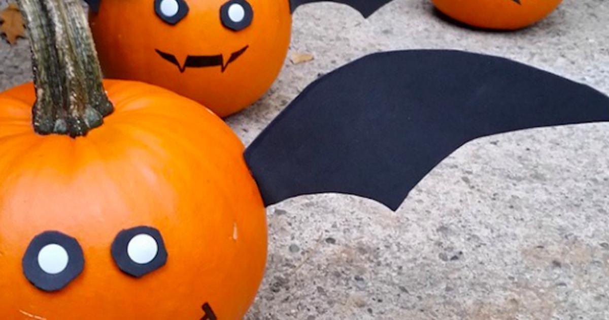 20 idées de citrouilles peintes pour Halloween